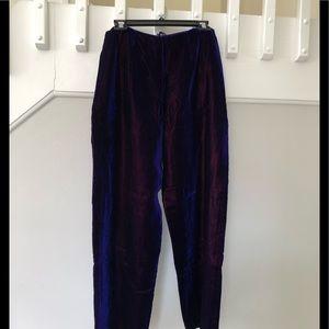 Velvet Dana Buchman Vintage pants.